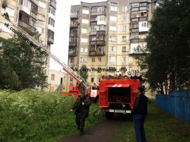 В доме на улице Ивченко произошёл пожар