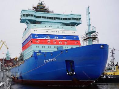 Завершена обвязка атомного реактора ледокола «Арктика»