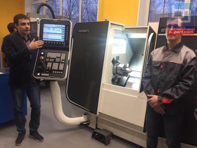Мурманский индустриальный колледж продемонстрировал свои новейшие мастерские