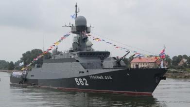 Ракетный корабль «Буян-М» совершил поход в Баренцево и Белое моря